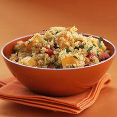 Quinoa with Mango and Curried Yogurt