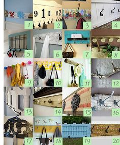 20 Cool Coat, Key and Towel Racks · Home and Garden | CraftGossip.com