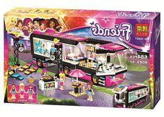 29.69$  Buy now - https://alitems.com/g/1e8d114494b01f4c715516525dc3e8/?i=5&ulp=https%3A%2F%2Fwww.aliexpress.com%2Fitem%2F2016-New-Friends-series-Pop-Star-Tour-Bus-model-building-blocks-684pcs-bricks-assembling-toy-gift%2F32719263253.html - 2016 New Friends series Pop Star Tour Bus model building blocks 684pcs bricks assembling toy gift 10407 Compatible With LEPIN