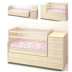 Детская кровать-трансформер Варвара, Бэби Бум