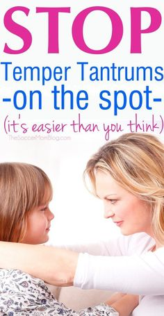 This 3-Step System is a Game-Changer for Stopping Temper Tantrums on the Spot