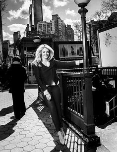 Daphne Oz for the Food Bank For NYC #GoOrange Fall 2013 Campaign.