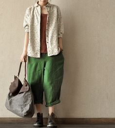 Light Linen Loose cotton Women Shirt Cotton Top Blouse