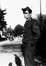 Johnny Cash, in the Army, circa 1950.
