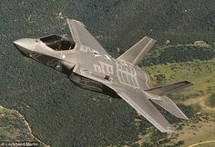 Hailed as the most expensive weapon in history, costing over $3.5 billion to develop so far, the Lockheed Martin F-35 fighter jet (pictured) is intended to dogfight, drop bombs and spy on emery territory