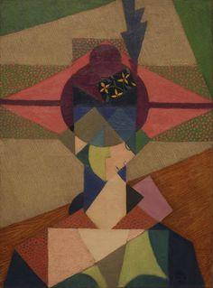 Jean Metzinger, Cubist Portrait, 1915