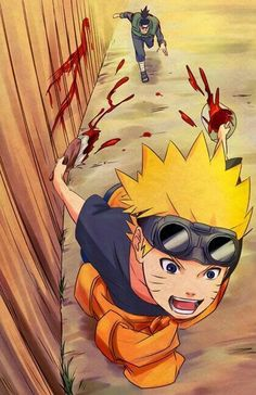 I really missed young Naruto