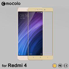 대한 xiaomi redmi 4 프로 프라임 0.33 미리메터 평면 가장자리 전체 커버 강화 유리 화면 보호기 redmi 4 유리 소매 패키지