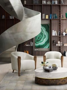 Blossom Armchair And Infinity Center Table Can Be The Highlights Of Your  Interior Design Project.