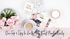 Our top 5 tips to help you boost productivity - The Inspired Boss How To Stop Procrastinating, Productivity, Place Card Holders, Boss, Inspired, Training, Inspiration, Biblical Inspiration, Work Outs