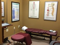 Our exam room allows us to customize a plan for each patient so we can eliminate and their pain.