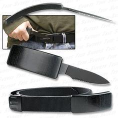 Belt Knife - Self Defense Hidden Blade Belt