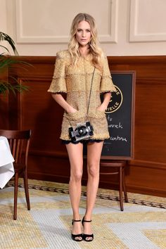 Poppy Delevingne in Chanel #2015