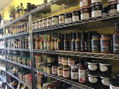 Local hot sauces, jams and spices at The Bridgenorth Deli! Hot Sauces, Country Cooking, Food Preparation, Fine Dining, Farmers Market, Deli, Spices, Farmers Market Display, Farmers' Market