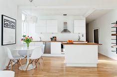 53 m² decorados en blanco