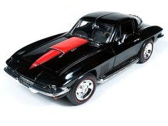 1 18 diecast | Auto World 1:18 1967 Chevrolet Corvette Coupe - 60th Anniversary ...