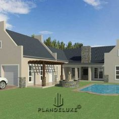 Double Story 4 Bedroom House Plan | Modern House Plans | Plandeluxe House Plans For Sale, Porch House Plans, 4 Bedroom House Plans, House Plans With Photos, Craftsman House Plans, Small Modern House Plans, Modern Floor Plans, Farmhouse Floor Plans, House Floor Design
