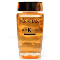 Introducing Kerastase Bain Elixir Ultime Shampoo 250ml or 85oz. Great Product and follow us to get more updates!