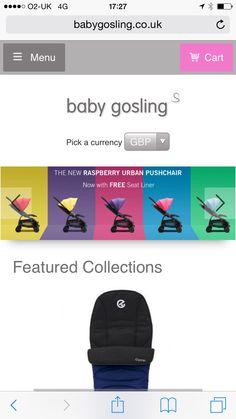 The new web store @babygosling #babygosling