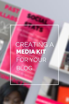For EVERY blogger, having a media kit is a great way to network, reach out to PR companies and larger blogs you'd like to write for.  Check out how I made my media kit using Canva!