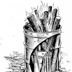 With a few materials and an afternoon of time, you can make lumps of homemade charcoal to help keep your homestead running.