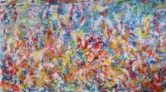 Full Image - Emotional Puzzle Nestor Toro in Los Angeles Acrylic Painting Canvas, Canvas Art, Large Painting, Original Art, Original Paintings, Abstract Art, Abstract Expressionism, Abstract Paintings, Contemporary Paintings