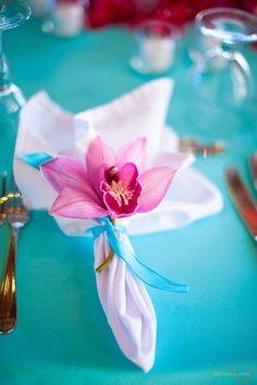 Turquoise/Pink Color Scheme