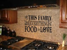 In This Family We Share Everything From Food To Love Vinyl Wall Art Decal + Free Shipping on Etsy, $16.00