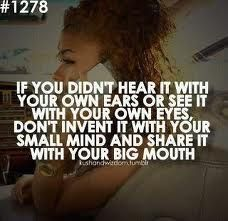 oh that is great!!!! hate gossip