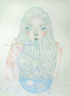 drawings by Tae Lee