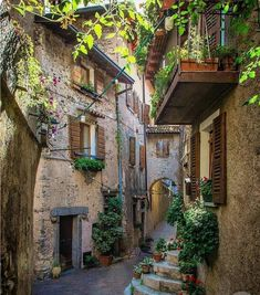 """Literally one of the """"Most Beautiful Villages of Italy"""" Use to share your photos from the region and look for travel inspiration for your next vacation! Places Around The World, Oh The Places You'll Go, Places To Travel, Around The Worlds, Siena Toscana, Tuscany, Wonderful Places, Beautiful Places, Beautiful Pictures"""