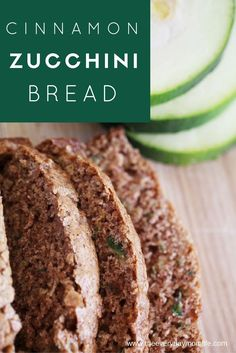 Cinnamon Zucchini Bread Recipes Hots the Sweet Spot With Kids and Gets Their Veggies In!
