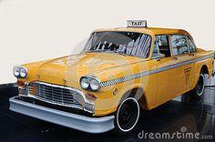Taxi amarillo del taxi