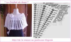 Lovely easy crochet - sweet shoulder-warmer!
