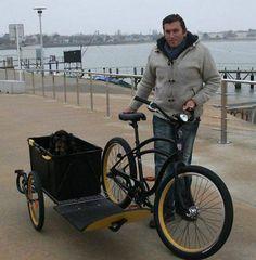Il réinvente le side-car pour vélos | Ouest France Entreprises