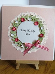 Items similar to Birthday Card Mum Nan Aunt Sister, Daughter, personalised on Etsy Personalized Birthday Cards, Handmade Birthday Cards, Personalized Wedding, Wedding Anniversary Cards, Wedding Cards, Wedding Invitations, Beautiful Birthday Cards, Cellophane Wrap, Aunt