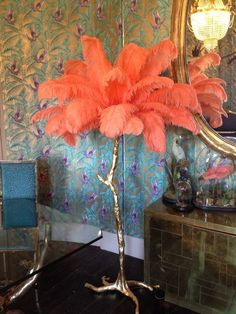 The Ostrich Feather Lamp – A Modern Grand Tour