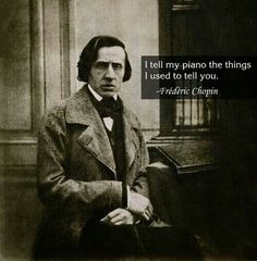 Frederic Chopin -- 19th Century Polish pianist and composer. Nocturne in C sharp minor Op.27 is mesmerizing.