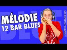 Mélodie 12 Bar Blues (Harmonica en C débutant) - YouTube
