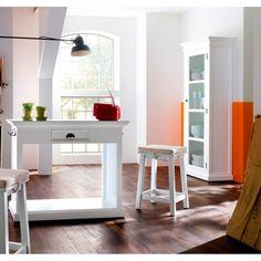 Smuk Hvid Halifax Vitrine    Halifax #halifax #interior #interiordesign #interiør #interiørdesign #interiørbutikkendk #indretning #bolig #boligindretning #vitrine #hvidvitrine Decor, Table, Corner Desk, Desk, Furniture, Home Decor
