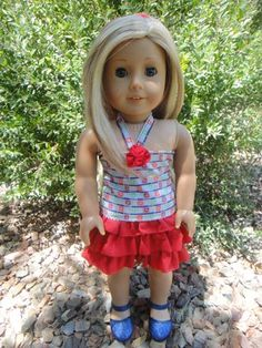 Sewing Basics: 18-inch Doll Clothes ~ Skirt + Top | Sew Mama Sew | Outstanding sewing, quilting, and needlework tutorials since 2005.