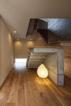 Fabulous contemporary lighting under the stairway makes a big visual impact - Decoist Staircase Contemporary, Modern Staircase, Interior Architecture, Interior And Exterior, Interior Design, Under Staircase Ideas, Modern Floating Shelves, Modern Tv Wall, Bars For Home