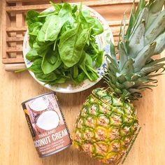 Smoothie vert Piña colada | The Wellness Nutritionista