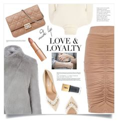 """You make me feel like I am whole again …"" by marina-volaric ❤ liked on Polyvore featuring beauty, mel, Casadei, Twenty, Christian Dior, Ted Baker, Charlotte Tilbury, Yves Saint Laurent and nudelip"