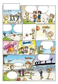 Afbeeldingsresultaat voor stripverhaal met lege tekstballonnen Speech Therapy Activities, Speech Language Pathology, Speech And Language, Sequencing Pictures, Sequencing Cards, Comic Strip Template, Comic Strips, Spot The Difference Kids, Learning Support