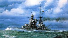Italian Heavy Cruiser Zara Heavy Cruiser, Sailing Ships, Zara, Boat, World War, Paintings, Dinghy, Boats, Sailboat