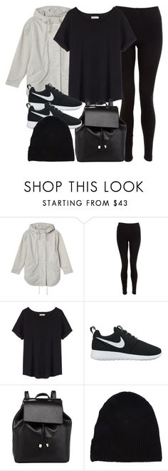 """""""Style #11534"""" by vany-alvarado ❤ liked on Polyvore featuring Monki, American Apparel, Organic by John Patrick, NIKE, Barneys New York and Yves Saint Laurent"""
