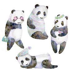life panda Art Print