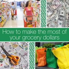 How to Make the Most of Your Grocery Dollars Money Savers, Money Saving Tips, Freebies By Mail, Coupons, Shopping, Budget, Coupon, Frugal Living, Saving Tips
