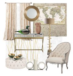 """""""Untitled #279"""" by liiiilylove ❤ liked on Polyvore featuring interior, interiors, interior design, home, home decor, interior decorating, Barclay Butera, Burke Decor, Arteriors and Uttermost"""